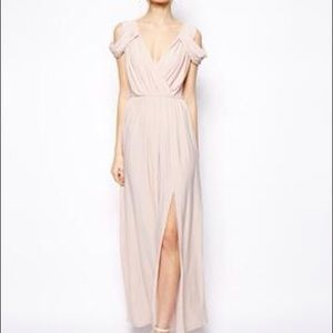 Pink ASOS Maxi Dress for prom/formal